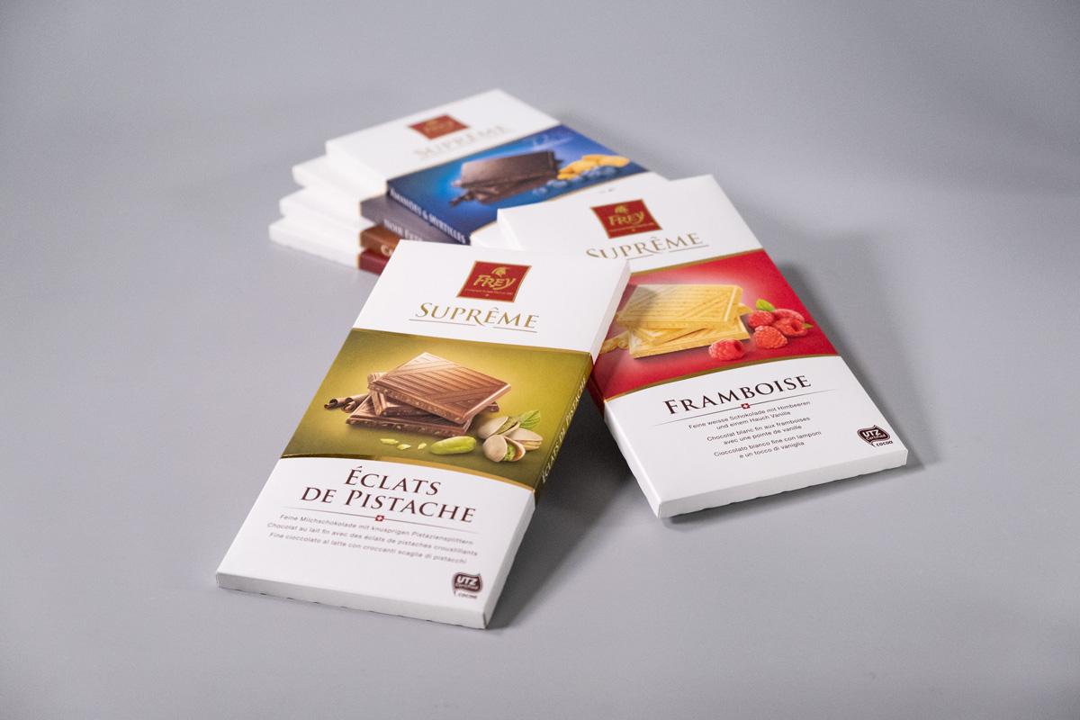 Supreme-Schokoladen-Linie Chocolat Frey